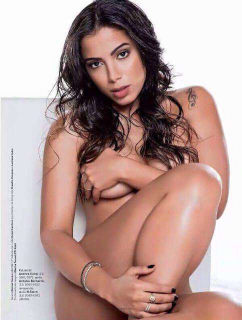 Anitta capa de revista mostrando seu corpo maravilho